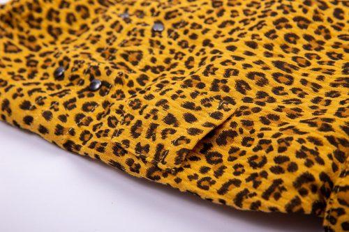 Oblacila za pse Pancho chihuahua pasja pizama leopard 2
