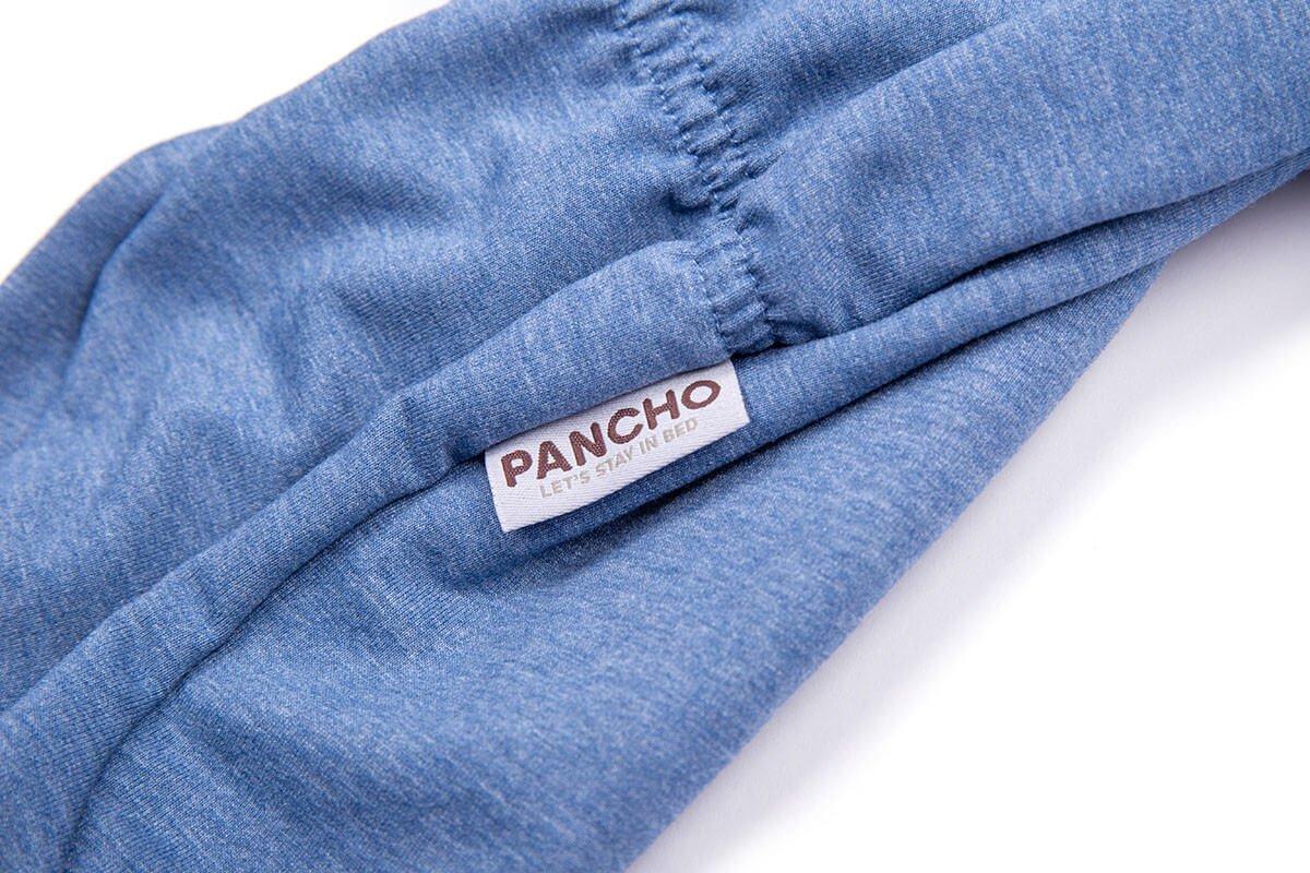 Oblačilo za pse Pancho pasja obleka Miki moder