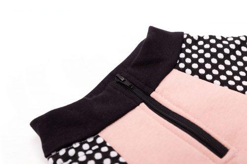Oblačilo za pse Pancho pasja obleka Plamenec roza 1