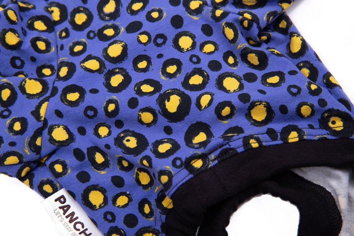 Oblačilo za pse Pancho chihuahua pasja obleka Močerad črn 5