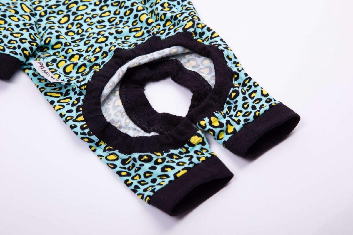 Oblačilo za pse Pancho pasja obleka Kameleon črn
