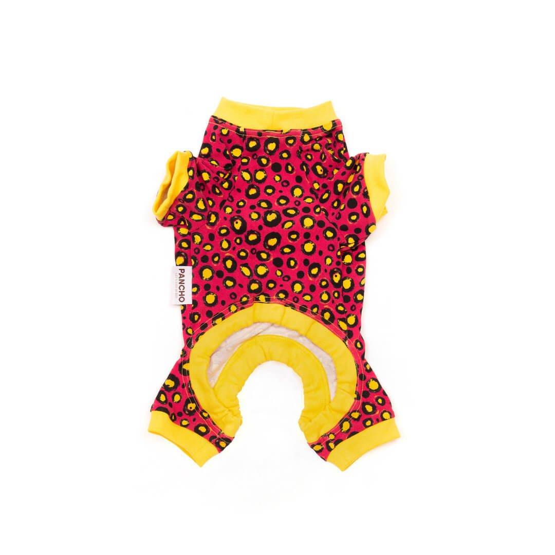Oblačilo za pse Pancho pasja obleka Metulj rumen